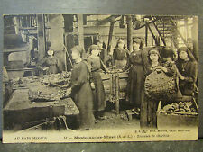cpa 71 montceau les mines trieuses de charbon metier