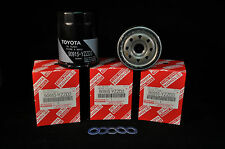 90915-YZZD3, Qty 5, Toyota Oil FIlters With Drain Plug Gaskets