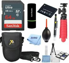 Accessory Kit for Canon PowerShot ELPH 180 Digital Camera