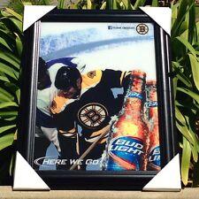 Bud Light Boston Bruins NHL Here We Go Beer Bar Mirror