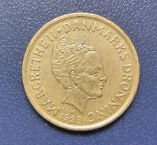 Danish 20 KRONER COIN 1996 Queen Margrethe II Denmark Danmark