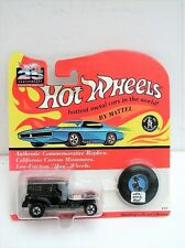 Hot Wheels Moc 25th Anniversary Blue Paddy Wagon w/ Black Roof Set J