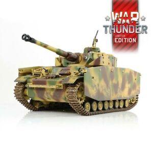 1:24 German Panzer IV Ausf. H RC Tank 2.4GHz Infrared RTR War Thunder Edition