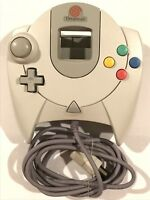Sega Dreamcast White Game Pad Console Controller Original Official OEM Red Swirl