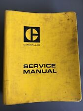 Caterpillar 631-633 Tractor Scraper Service Manual