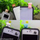 1 pc 3.5mm Universal  Earcap Anti-dust Plug Cartoon Cute Animals For Cell Phone