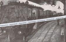 Der Zugfürer und Fahrdienstleiter - Eisenbahn - Bahnhof - um 1910 -   L 11-17