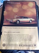 P1-2 Ephemera Advert 1967 Gm Oldsmobile