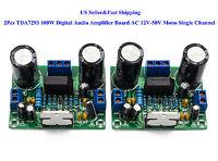 2Pcs TDA7293 100W Digital Audio Amplifier Board AC 12V-50V Mono Single Channel