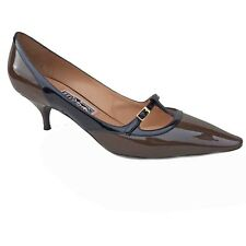 Salvatore Ferragamo £225 Designer Shoes Pumps 39.5 EU (6.5 UK) US 8.5 C Patent
