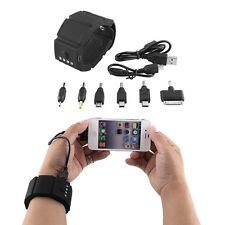 Portable Wrist Band Gadget External Power Bank USB Battery Charger For Phone PSP
