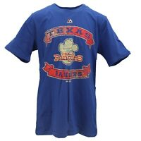 Texas Rangers Official MLB Majestic Kids Youth Size Distressed T-Shirt New Tags