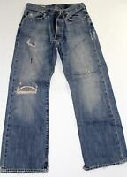 Abercrombie & Fitch Men's Distressed Jeans Size 28 Waist x 30 Length