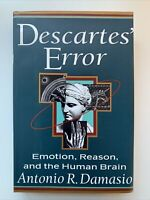 Descartes' Error by Antonio Damasio, 1st Edition / 1st Printing, 1994, HCDJ