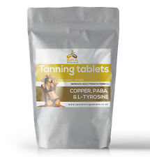 Tanning Tablets - 1 Year - Safe Healthy Melanin Accelerator Pills - Natural Tan