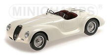 ALFA ROMEO 6C 2500 SS CORSA SPIDER - 1939 - white - Minichamps 1:18