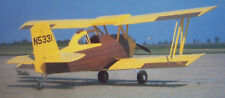 """AG-CAT DUSTER PLANS + FULL CONSTRUCTION ARTICLE to Build a 32"""" UC Model Airplane"""