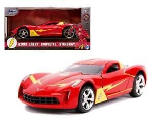 1:32 The Flash -- 2009 Chevy Corvette Stingray -- DC Justice League