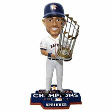 George Springer 2017 World Series Champions Trophy Houston Astros Bobblehead