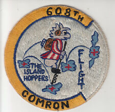 Wartime 608th Comron Pogo Patch / USAF Aviation Insignia
