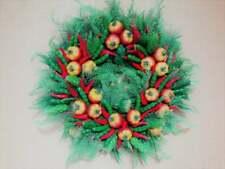 Rustic door wreath, Summer/Fall wreath, Kitchen wreath, Thanksgiving Wreath