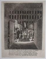 Todesurteil Hinrichtung um 1760