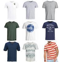 Jack & Jones Herren T-Shirt - verschiedene Farben - Slim Fit -Kurzarm - S - 2XL