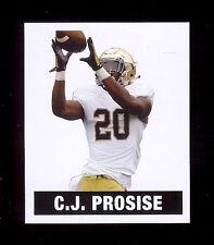 C.J. PROSISE Notre Dame / Seahawks - 2016 LEAF Originals Football Card A-CJP