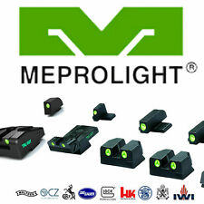 Meprolight Day & Night Sights for Glock, Sig Sauer, S&W, Jericho, Walther. IDS