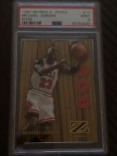1997 SKYBOX Z-FORCE MICHAEL JORDAN BOSS CARD #10 PSA 9