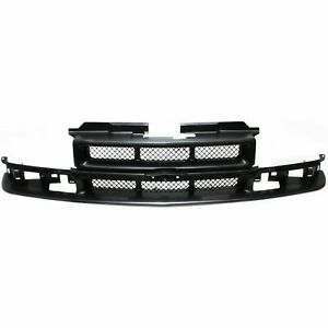 Front Grille W/ ZR2 Model fits 1998 1999 2000 2001 2002 2003 2004 Chevrolet S10