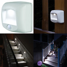 Wireless Motion Sensor Led Light Indoor Outdoor Security Stair Step Walkway Path
