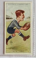 CN Lowe RAF Footballers Caricatures 1926 John Player Cigarette Card (B5)