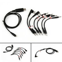 1Pc 6 in 1 USB Programmier Kabel Für Motorola HYT ICOM BAOFENG KENWOOD YAESU A3