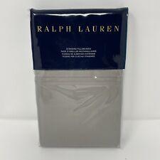 Ralph Lauren Bedford Sateen 800 Thread Count Standard Pillowcases Gray Dawn