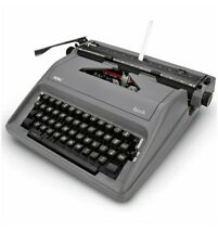 Royal Epoch Portable Manual Typewriter (GRAY COLOR) Holiday Special !!!