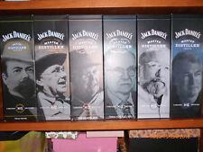 6 x Jack Daniels- Master Distiller Serie , 1+2+3+4+5+6  je 700ml,  43% Vol. Alc.