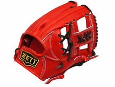 ZETT Pro Elite 11.75 inch Japan Red Baseball Softball Infielder Glove