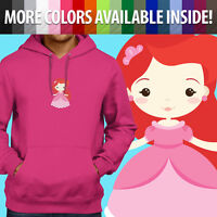 Unisex Pullover Sweatshirt Hoodie Sweater Little Mermaid Princess Ariel Cartoon
