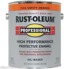 1 Gal Safety Orange Rust-Oleum VOC Compliant Rust Control Enamel Paint 245477