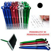 60 Penne A Sfera Nere Personalizzabili Porta Cellulare Gadget Pubblicitario 927