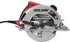 Circular Saw 7 1/4 in Reconditioned 15 Amp Corded Electric with 24 Tooth Blade