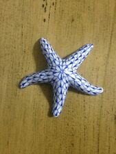 New ListingVintage Andrea by Sadek Porcelain Blue/White Starfish