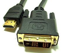 Bytecc HMD-6 HDMI High Speed Male to DVI-D Male Single Link Cable