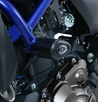 Yamaha XSR700 2018 Black R&G Racing Aero Crash Protectors Bungs Bobbins