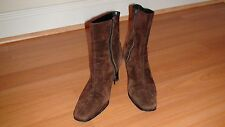 JOAN & DAVID SUEDE WOMEN'S SHOES sz. US 8 N-M HAND MADE IN ITALY