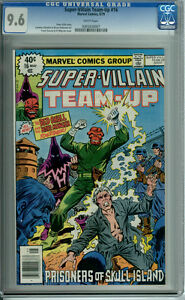 SUPER-VILLAIN TEAM-UP #16 CGC 9.6 WHITE PAGES