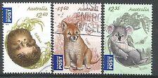 ˳˳ ҉ ˳˳AUI09 Australia International set 2011 High V. Dingo Koala Echidna Babies