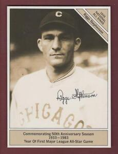 "1933 GIANTsize 4.5""x 6"" Conlon All-Star: RIGGS STEPHENSON, Cubs 1983 Marketcom"