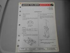 Honda Service Tool News Compresor Seat ATC200ES 7063-8403